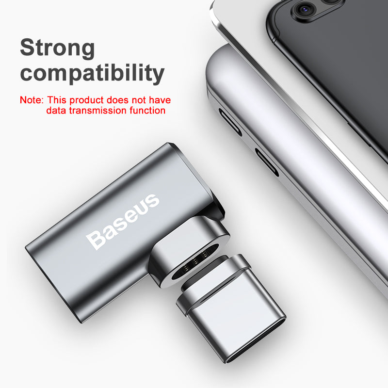 Baseus USB Type C Cable To Type-C Magnetic Adapter For Macbook Samsung HTC Google LG HUAWEI Fast Charging Magnet USB-C Connector - Hot Phone Tech
