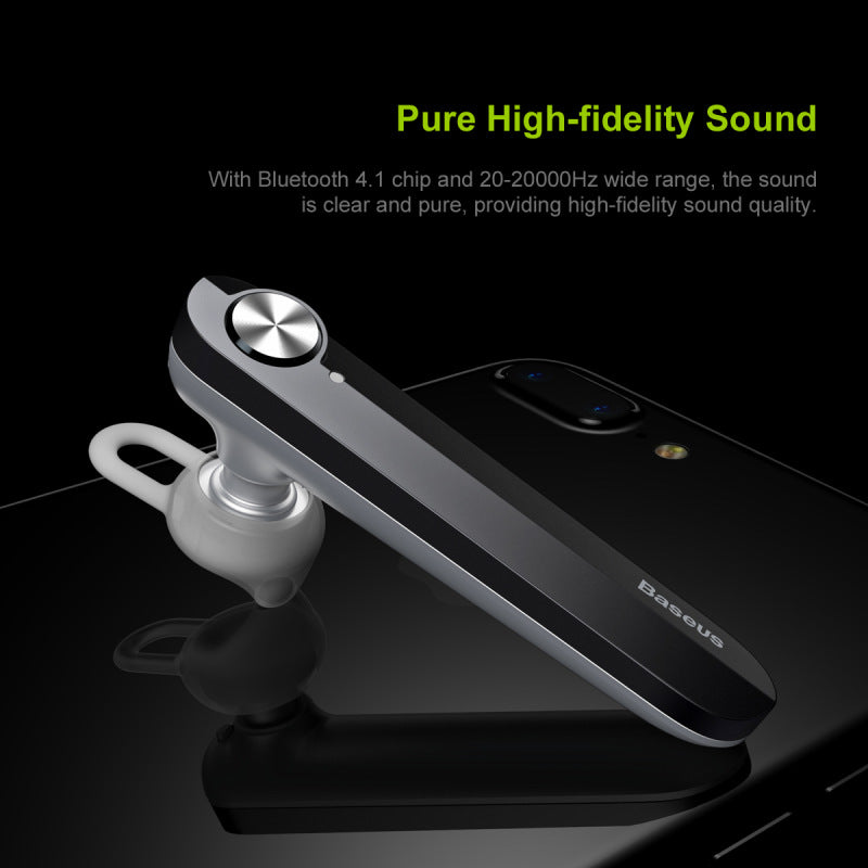 Baseus A01 Wireless Bluetooth Earphone Mini Business Portable Earphones With Microphone For Samsung LG Google HTC HUAWEI iPhone Driving Fone De Ouvido - Hot Phone Tech