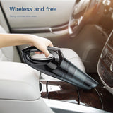 Baseus Car Vacuum Cleaner Portable Wireless Handheld Auto Vacuum Cleaner Robot for Car Interior & Home & Computer Cleaning - Hot Phone Tech