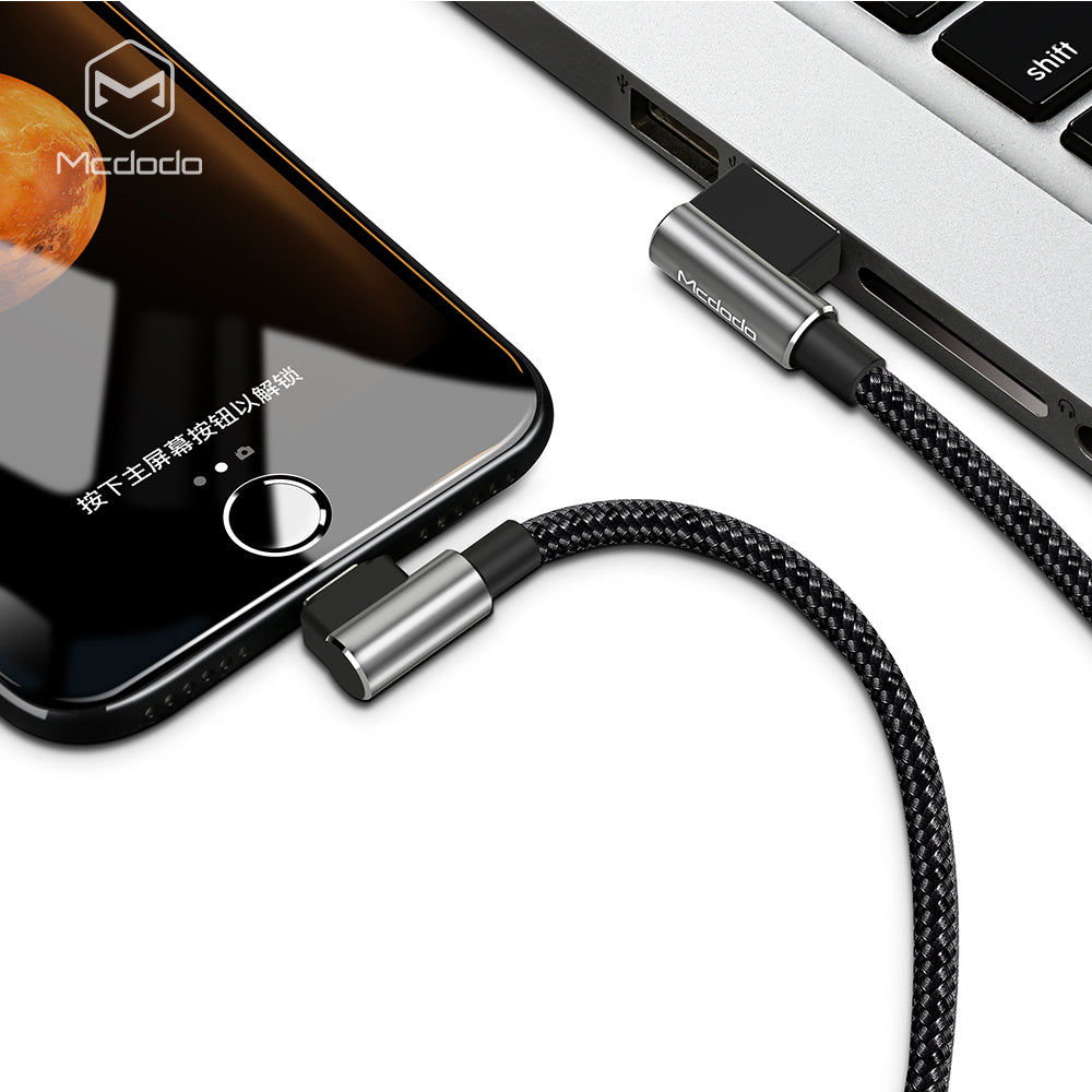 Mcdodo 2.4A Fast USB Cable For iPhone X XS MAX XR 8 7 6s Plus 5 Charging Cable Mobile Phone Charger Cord Usb Data Cable - Hot Phone Tech