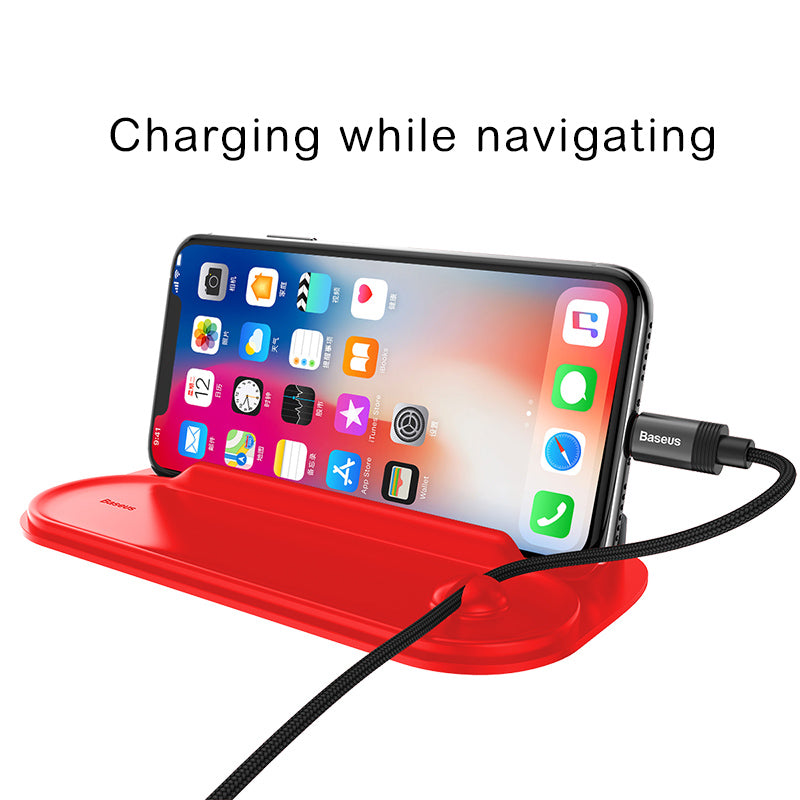Baseus Mobile Phone Holder For Car Phone Holder Temporary Parking Card Phone Number Plate Auto Sticker Car-Styling Rocker Switch - Hot Phone Tech