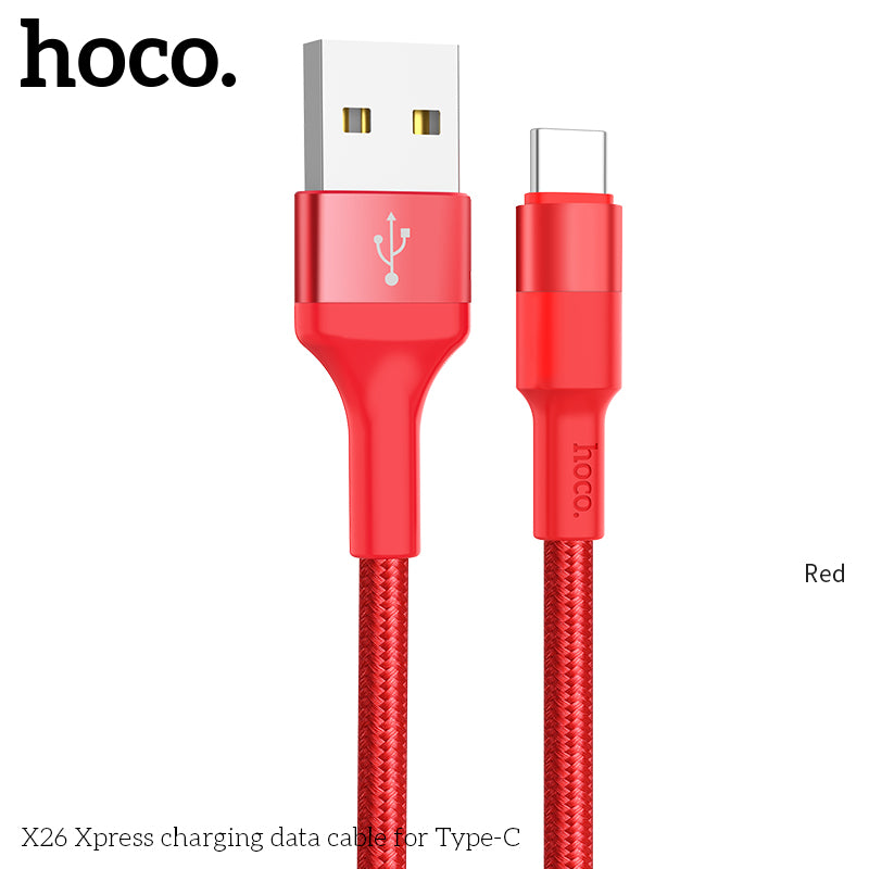 HOCO USB C Cable Type C Fast Charge Cable Data Sync USBC Cord Charger For Samsung Google Sony LG HUAWEI - Hot Phone Tech