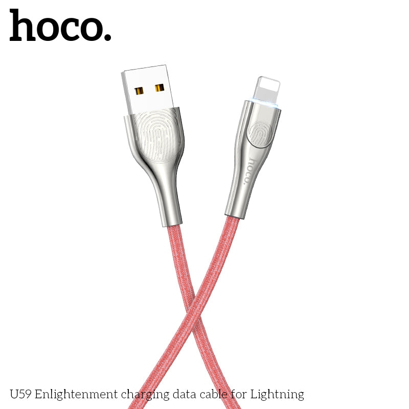 HOCO U59 USB To Lightning Fast Charging Cable Data SYNC Cord For iPhone XS MAX XS XR 8 7 6 Plus - Hot Phone Tech