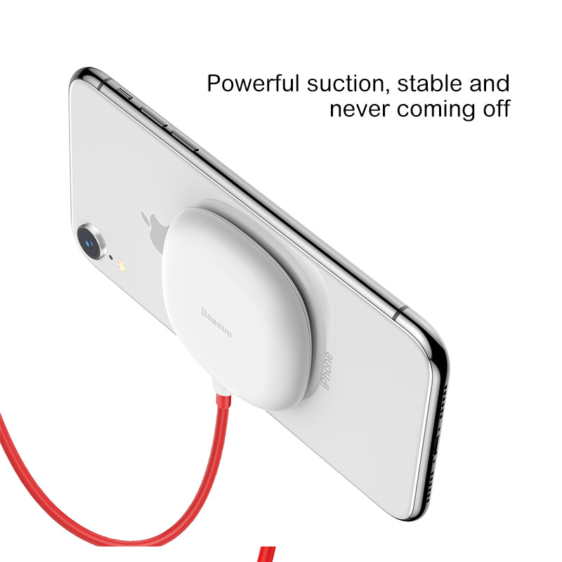 Baseus Spider Suction Cup Wireless Charger Max Portable Fast Wireless charging Pad For iPhone XR XS Samsung HUAWEI Google HTC LG - Hot Phone Tech