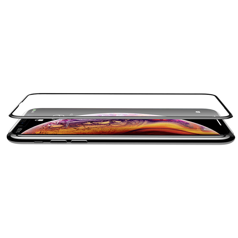 Baseue Curved Edge Full Cover Protective Glass Tempered Screen Protector iPhone XR XS MAX - Hot Phone Tech