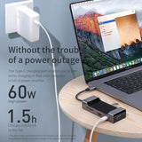 Baseus Multi USB C HUB to HDMI USB 3.0 SD TF Card Reader VGA Adapter USB Splitter for MacBook Pro Air Type C Charging USB C Dock - Hot Phone Tech