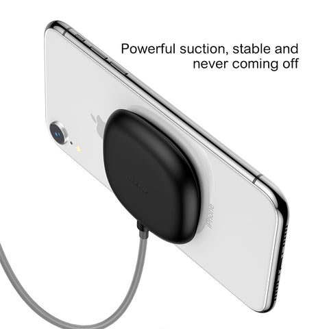 Baseus Suction Wireless Charger For iPhone X XS MAX XR Samsung Sony LG HUAWEI Google Wireless Charging Design For Gaming Built-In Cable - Hot Phone Tech