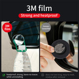 Baseus Car Holder 2Pcs Rear View Mirror Full-vision Adjustable Blind Spot Mirror For Car Backing Auto Round Glass Convex Mirror - Hot Phone Tech