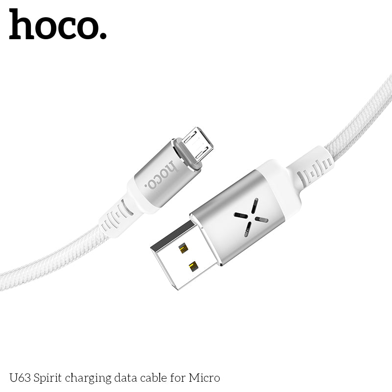 HOCO Micro USB Cable 1.2M Fast Charging Data Charger Cable for Xiaomi Samsung LG HUAWEI Google HTC ALL Android Device Mobile Phone USB Micro Cable - Hot Phone Tech