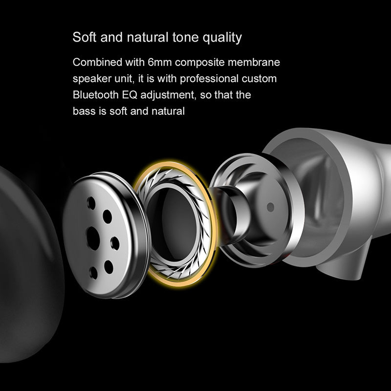 Baseus S03 Bluetooth Earphone Wireless Magnetic Neckband Earbuds Handsfree Sport Stereo Earpieces For iPhone Samsung LG Google HUAWEI Xiaomi With MIC - Hot Phone Tech