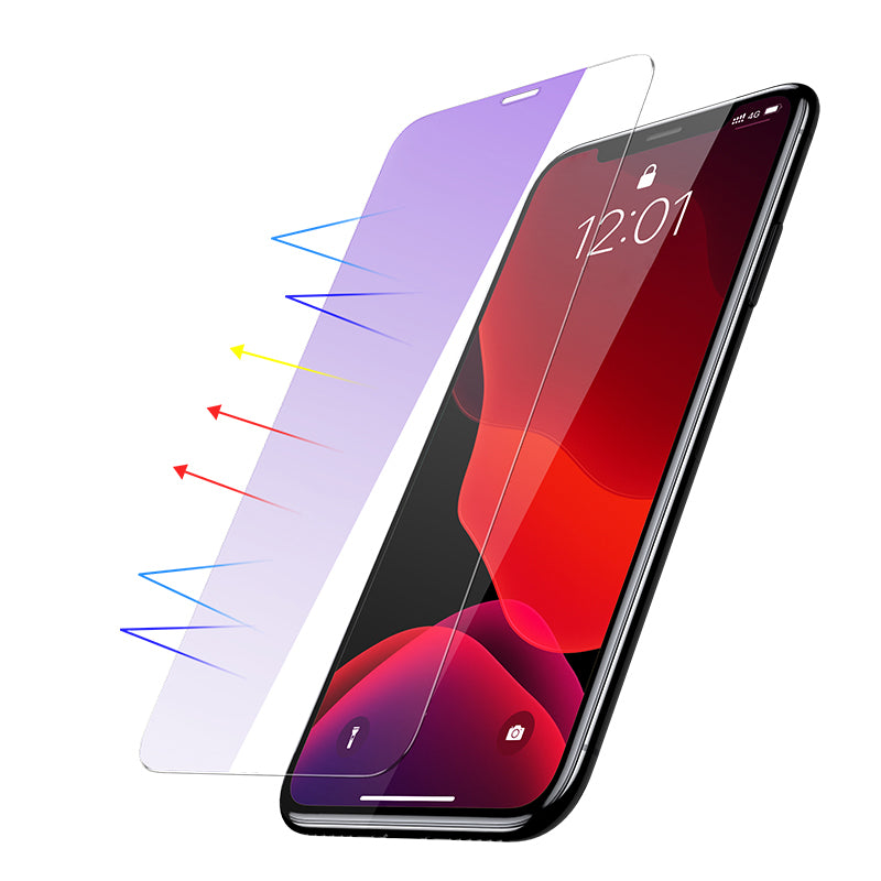 Baseus 0.15mm Tempered Glass Screen Protectot For iPhone 11 Xi Xi Max New 2019 Full Cover Protective Film For iPhone 2019 New(2pcspack+Pasting Artifact) - Hot Phone Tech