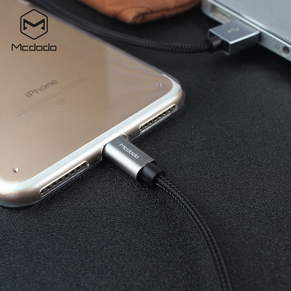 MCDODO MFI Certified Charging Cable For iPhone Apple Xs Max 8 7 6plus Cable Fast Charging Cable Mobile Phone Charger Data Cable - Hot Phone Tech
