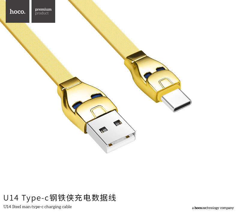 HOCO USB C Cable for Samsung Sony LG HUAWEI Google USB Type C Fast Charging Data Cable  USB Type-C Charge Cord - Hot Phone Tech