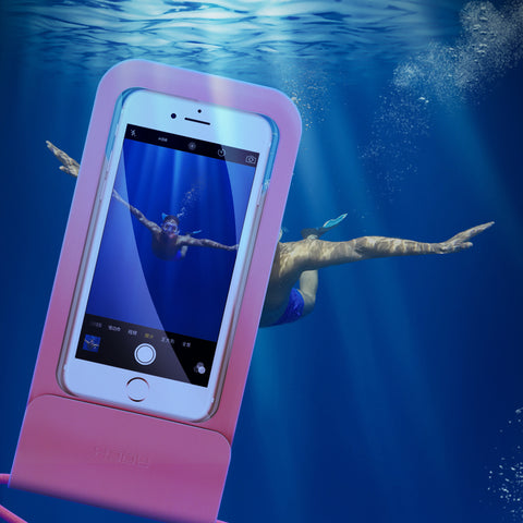 Rock Swimming Ipx8 Waterproof Mobile Phone Bag Pouch Underwater 30 Meters 4.7-6 Inch Case For iPhone Samsung Google Sony LG HUAWEI - Hot Phone Tech
