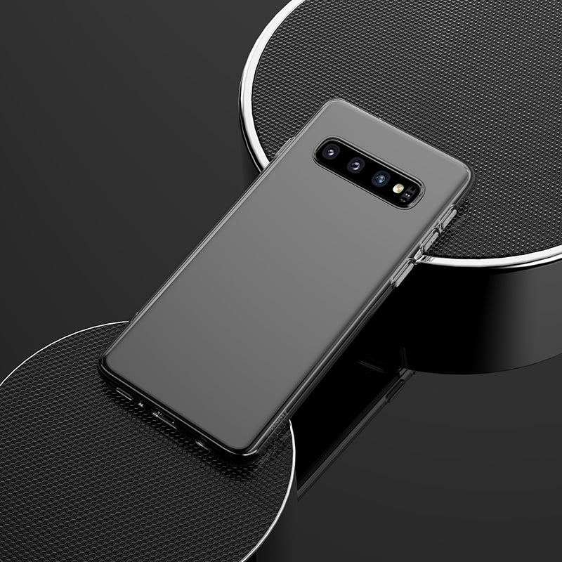 HOCO Soft Clear Phone Case for Samsung Galaxy S10 Transparent Slim Back Cover for Galaxy S10 Plus S 10 Samsung S10e etui holster - Hot Phone Tech