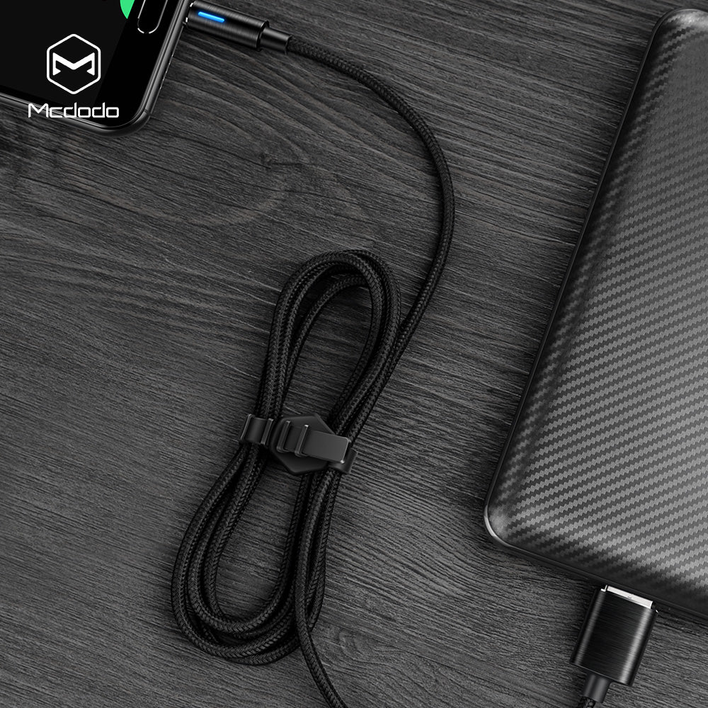 MCDODO Micro USB Cable Cord For Android Smartphone Intelligent Automatically Power Off Data SYNC - Hot Phone Tech