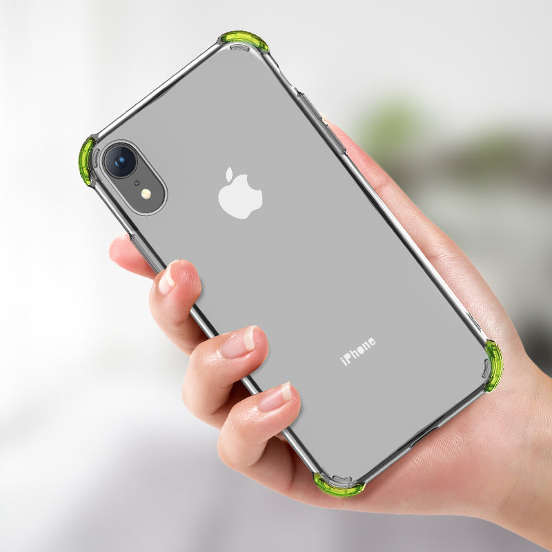HOCO TPU Phone Case Soft Matte Protective Back Cover Shell Frame For iPhone XR Solid Color Business - Hot Phone Tech