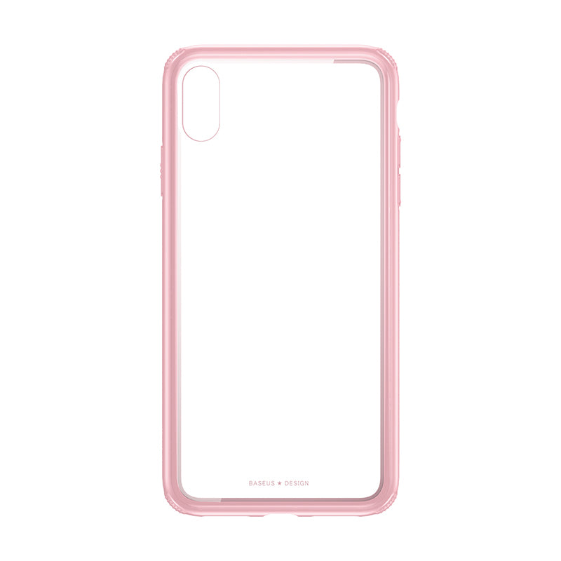 Baseus Luxury Original Tempered Glass Case For iPhone XS/X XS Max XR Cover Anti Knock Back Phone Case - Hot Phone Tech