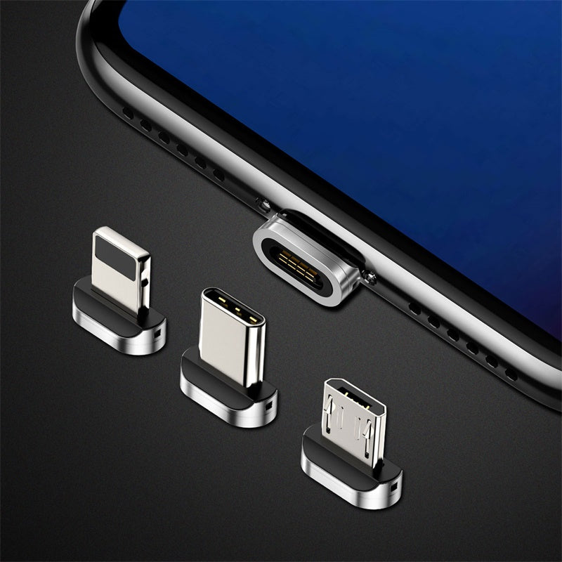 Baseus Magnetic Charger USB Cable Adapter for iPhone Samsung Huawei Fast Charging Micro USB Type C Cable Magnet Charger Adapter - Hot Phone Tech