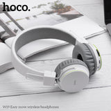 HOCO Cool Sports Bluetooth Headphone Wireless Headset Gamer with Microphone Remote Big Earphones For iPhone Sony Google LG HUAWEI Samsung Handsfree - Hot Phone Tech