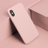 Baseus Luxury Liquid Silicone Case For iPhone XS MAX XS/X XR Smooth Candy Color Silicon Case Phone Cover - Hot Phone Tech