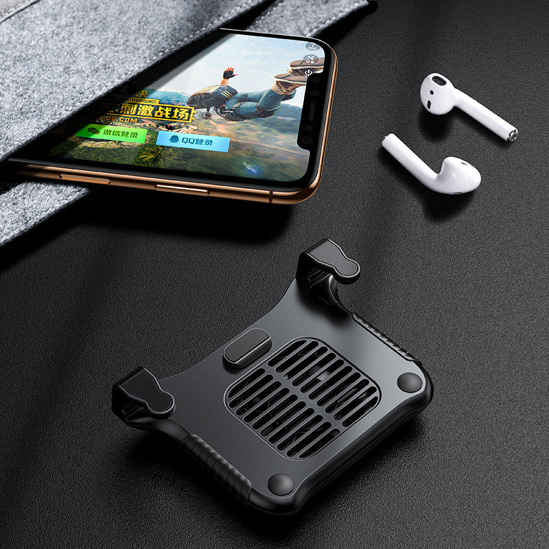 Baseus Mobile Phone Cooler for iPhone Xs Max Xs XR Game Shooter Controller for Samsung Huawei 4.7-6.5inch Phone Accessories - Hot Phone Tech