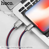 HOCO Durable Nylon Micro USB Cable For Samsung HTC Google LG HUAWEI ALL Android Device 2.4A Fast Charging Sync Data Cable Microusb Charger Cord - Hot Phone Tech