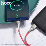 HOCO U59  USB To Type C Cable Charger Fast Charging Cable SYNC Cord For Samsung HTC Google HUAWEI LG All Android Device - Hot Phone Tech