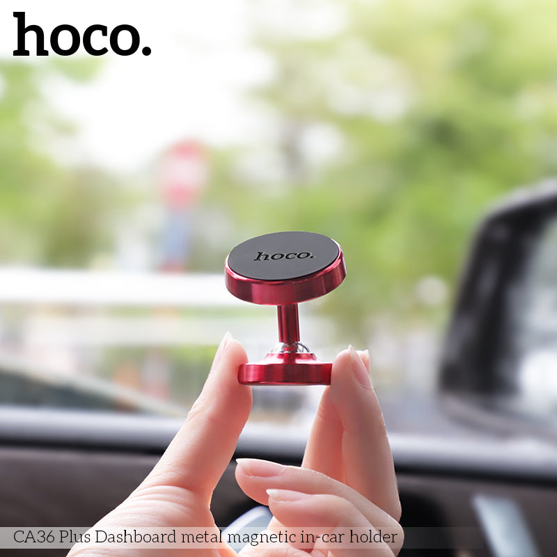 HOCO CA36 Car Phone Holder Magnetic Clamp Mobile Phone Car DVR 360 Degree Phone Holder For iPhone X XS Max Samsung Xiaomi Google HUAWEI LG Sony - Hot Phone Tech
