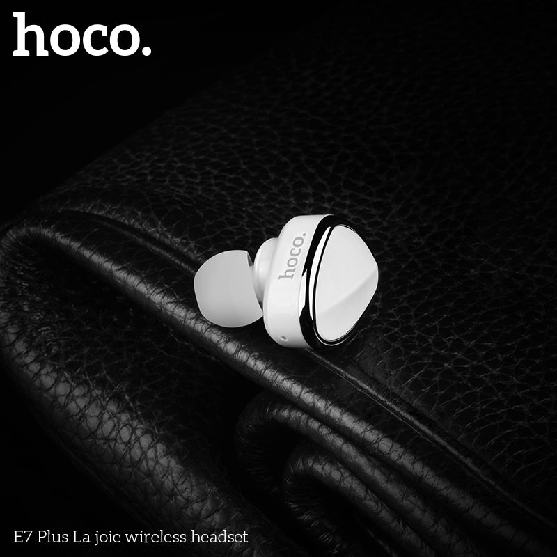 Hoco Invisible Earpiece Music Earphone Bluetooth In-ear Handsfree Mini Wireless Earphones With Microphone For iPhone Google Samsung Sony LG HUAWEI  Headset - Hot Phone Tech