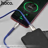 HOCO U58 USB To Type C Cable Durable Zinc Alloy USB Type C Fast Charging Cable For Samsung HTC Google LG HUAWEI - Hot Phone Tech