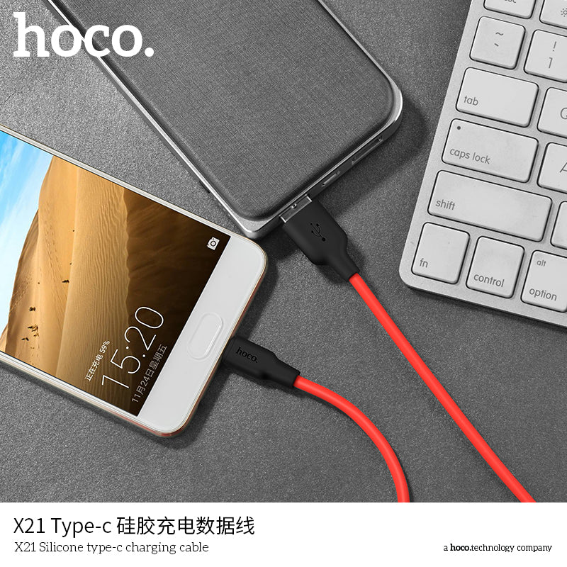 HOCO Mobile Phone Cables USB Type C Cable  USB-C Cable Fast Charging Data Cable For Samsung Sony LG HUAWEI Google - Hot Phone Tech