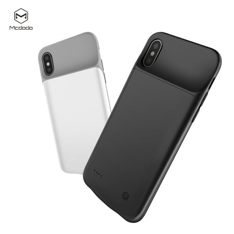 Mcdodo Battery Case For iPhone X  3200mAh External Battery Charger Case Backup Power Bank Power Charging Case - Hot Phone Tech