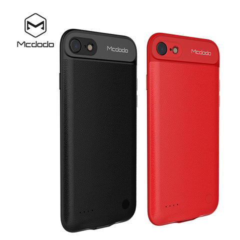 Mcdodo Dual SIM Dual Standby Adaper rubber frame Ultrathin Long Standby for iPhone7/7 plus & 2500/3650 mAh Power Bank - Hot Phone Tech