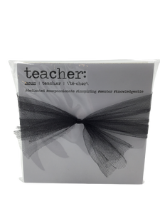 Teacher definition notepad