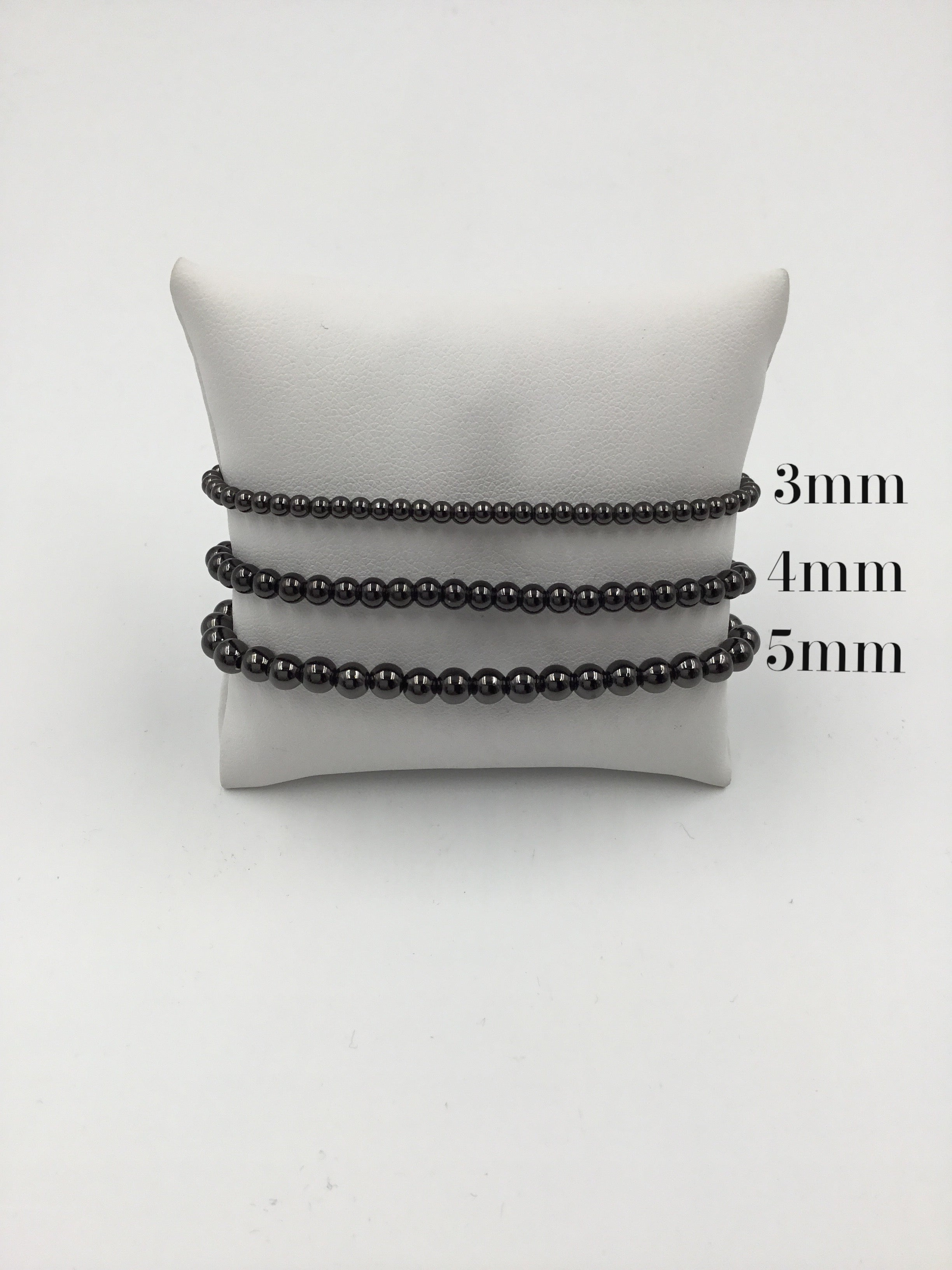 Metal Bead 5mm Stretch Bracelet