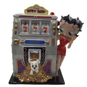 Betty Boop Lady Luck Cookie Jar