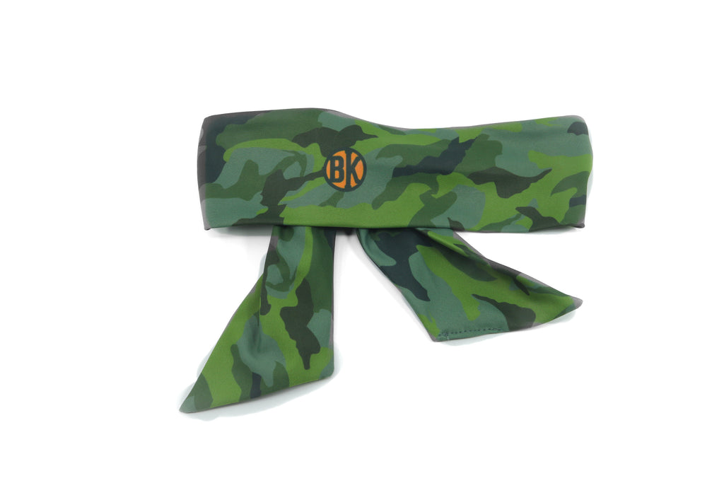 Forest Green Camo Band