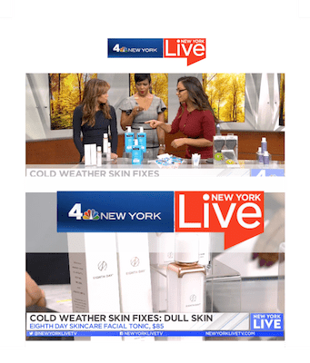 NBC NEW YORK LIVE - Shop the Show: Winter Beauty Skin Fixes