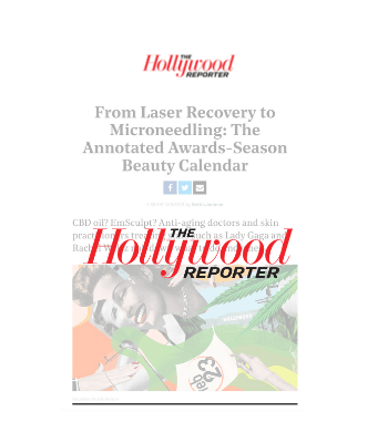The Hollywood Reporter - From Laser Recovery to Microneedling: The Annotated Awards-Season Beauty Calendar