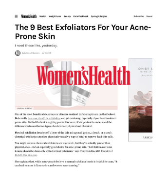 The 9 Best Exfoliators For Your Acne-Prone Skin