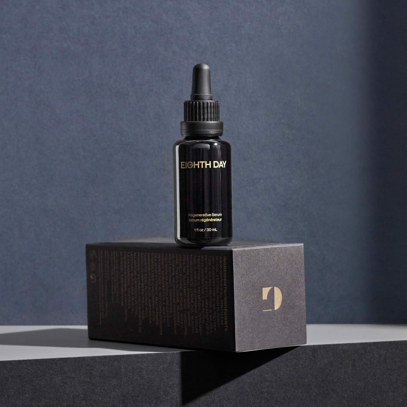 Eighth Day Regenerative Serum packaging