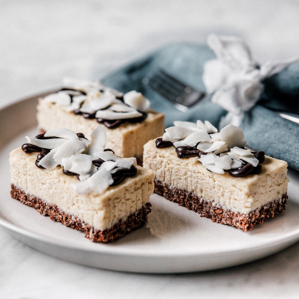 Vegan Coconut Bars - LoLa´s Kitchen