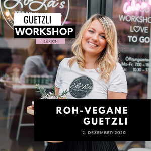 "Raw vegan ""Guetzli"" Workshop 