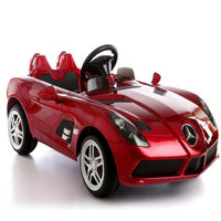 Mercedes Benz SLR Mclaren Kids Battery Operated Car with Remote