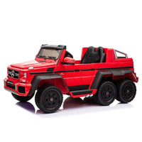 Mercedes Benz G63 AMG 6x6 Kids Battery Operated Car 12V with Remote