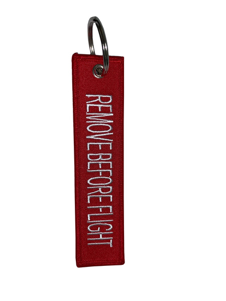 "MiniMe Dealership Key Tag ""REMOVE BEFORE FLIGHT"""