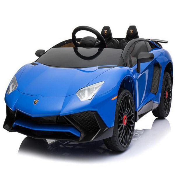 Lamborghini Aventador SV Kids Battery Operated Car 12V with Remote