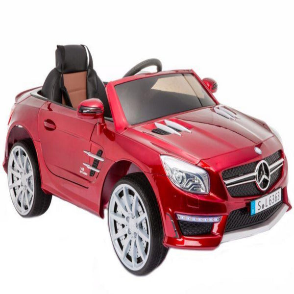 Mercedes Benz SL 63 AMG Kids Battery Operated Car with Remote