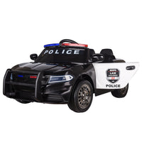Police Car Dodge 12V Ride On Electric Car with Remote